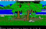 Gold Rush! Atari ST California countryside.