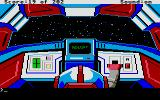 Space Quest: Chapter I - The Sarien Encounter Atari ST Escaping in an escape pod.