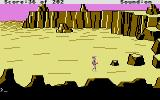 Space Quest: Chapter I - The Sarien Encounter Atari ST Exploring the desert of Kerona.