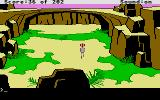 Space Quest: Chapter I - The Sarien Encounter Atari ST A natural rock bridge is above you.