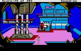 Space Quest: Chapter I - The Sarien Encounter Atari ST An underground settlement of friendly aliens.