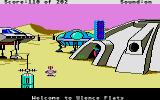 Space Quest: Chapter I - The Sarien Encounter Atari ST Welcome to Ulence Flats.