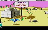 Space Quest: Chapter I - The Sarien Encounter Atari ST Tiny's Used Spacecraft.