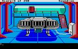 Space Quest II: Chapter II - Vohaul's Revenge Atari ST Landing bay aboard the space station.