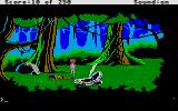 Space Quest II: Chapter II - Vohaul's Revenge Atari ST The craft crashed and now you're free1