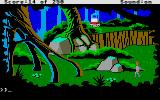 Space Quest II: Chapter II - Vohaul's Revenge Atari ST The jungels of Labion.