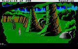 Space Quest II: Chapter II - Vohaul's Revenge Atari ST They have some big trees on this planet...