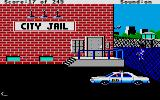 Police Quest: In Pursuit of the Death Angel Atari ST At the city jail.