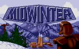 Midwinter Atari ST Title screen.