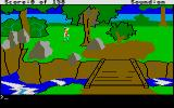 King's Quest Atari ST Near a river.