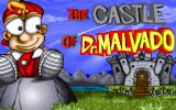 The Castle of Dr. Malvado DOS Title screen