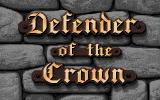 Defender of the Crown Apple IIgs Title screen.