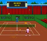 International Tennis Tour SNES The player can practice both service and precision