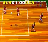 Dig & Spike Volleyball SNES The ball lands where the cursor is