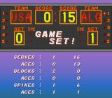 Dig & Spike Volleyball SNES Stats