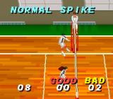 Dig & Spike Volleyball SNES Training to become a better spiker