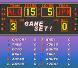 Dig & Spike Volleyball SNES Individual player stats