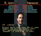 Brett Hull Hockey SNES Comparing the teams