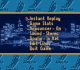 Brett Hull Hockey SNES In game options