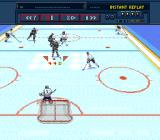Brett Hull Hockey SNES Instant replay