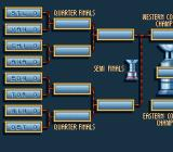 Brett Hull Hockey SNES Playoff tree