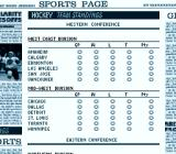 Brett Hull Hockey SNES Team standings
