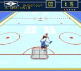 Brett Hull Hockey SNES Shootout
