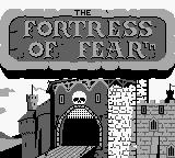 Wizards & Warriors X: Fortress of Fear Game Boy The Fortress of Fear