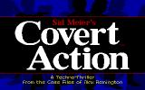 Covert ActionTitle Screen