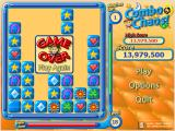Combo Chaos Windows Game over