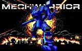 MechWarrior DOS MechWarrior Splash Screen