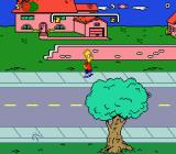 The Simpsons: Bart's Nightmare Genesis Starting the game