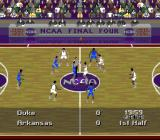 NCAA Final Four Basketball SNES The tip off