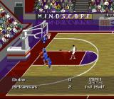 NCAA Final Four Basketball SNES The score appears after every basket