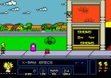 The Simpsons: Bart vs. the Space Mutants Genesis Starting the game