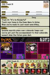 The World Ends with You Nintendo DS Item menu