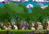 Shadow of the Beast Genesis Walking through a forest