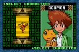 Digimon: Battle Spirit Game Boy Advance Choosing Agumon.