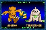 Digimon: Battle Spirit Game Boy Advance Agumon vs. Terriermon