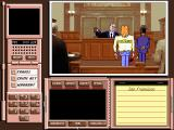Where in the World is Carmen Sandiego? (Deluxe Edition) DOS The defendant standing trail