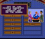 Family Feud SNES Getting ready to say the question.