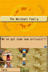 Harvest Moon DS: Island of Happiness Nintendo DS After setting up your house in the island, you find out that more people will do the same!