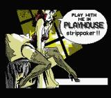 Playhouse Strippoker MSX Title Screen (MSX1)