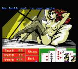 Playhouse Strippoker MSX Dealing - screen 3 (MSX1)