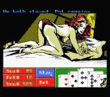 Playhouse Strippoker MSX You both are staying with your bets - screen 4 (MSX1)