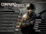 Company of Heroes: Tales of Valor Windows Main Menu