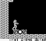 Metroid II: Return of Samus Game Boy Finding the Varia Suit which halves the damage Samus takes