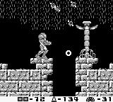 Metroid II: Return of Samus Game Boy A large plant shoots tiny attackers
