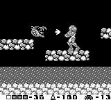 Metroid II: Return of Samus Game Boy Some enemies can shoot