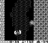 Metroid II: Return of Samus Game Boy With the Spider Ball, Samus can roll along walls and ceilings